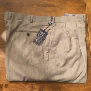 Chaps suits separates grey dress pants 42x30